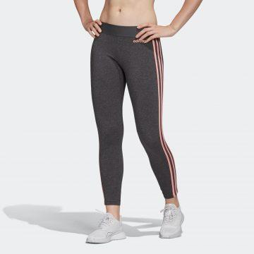 Adidas Legging 3-stripes voor dames grijs/roze