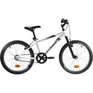 Btwin Mountainbike kind 20 inch Rockrider ST 100 6-9 jaar wit