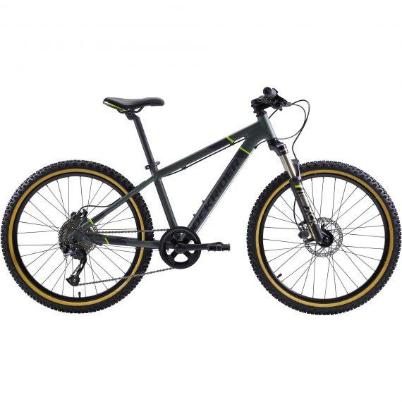 Btwin Mountainbike kind 24 inch Rockrider ST 920 9-12 jaar groen