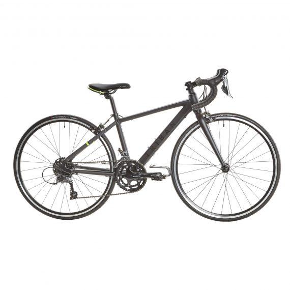 Btwin Racefiets / wielrenfiets kind 26 inch 9-12 jaar Triban 500 shimano claris grijs