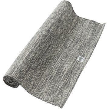 Domyos Katoenen matje voor zachte yoga 4 mm gemêleerd grijs