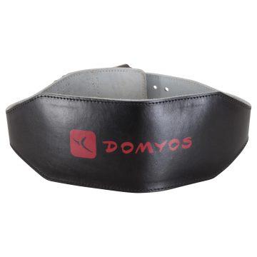 Domyos Leren gewichthefgordel