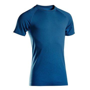Domyos Naadloos T-shirt met korte mouwen voor dynamische yoga heren