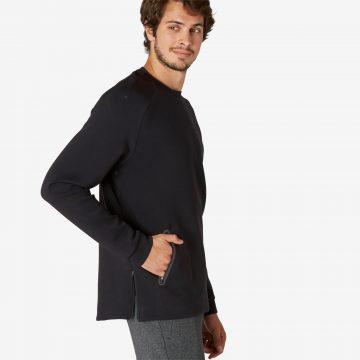 Domyos Sweater voor work-out heren 540 spacer