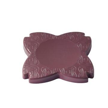 Domyos Yoga pad / kussen voor knieën en polsen bordeaux
