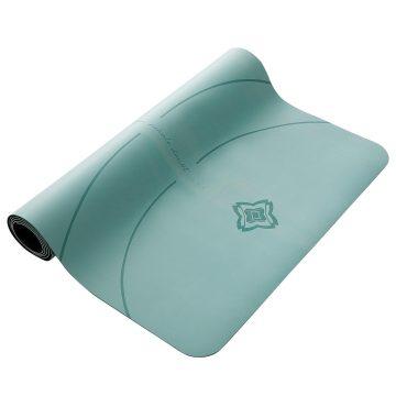Domyos Yogamat voor dynamische yoga Grip+ 3 mm groen