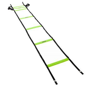 Kipsta Speed ladder verstelbaar 4 meter geel