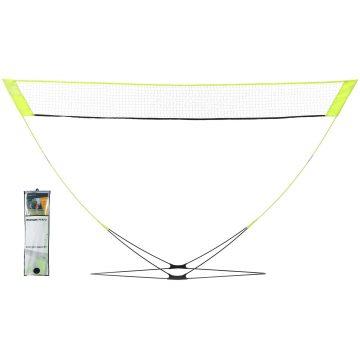 Perfly Badmintonnet Easy Net Discover geel
