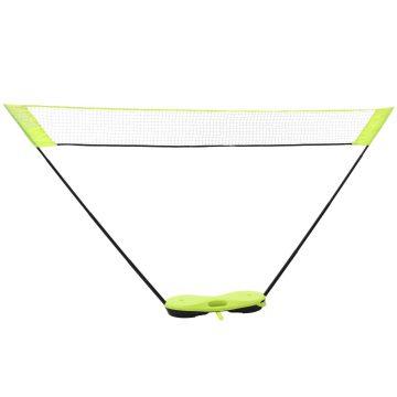 Perfly Badmintonnet Easy Net geel