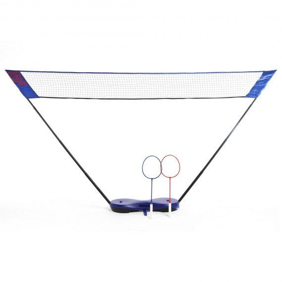 Perfly Badmintonnet Easy Set 3m blauw