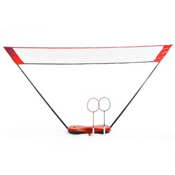 Perfly Badmintonnet Easy Set 3m rood