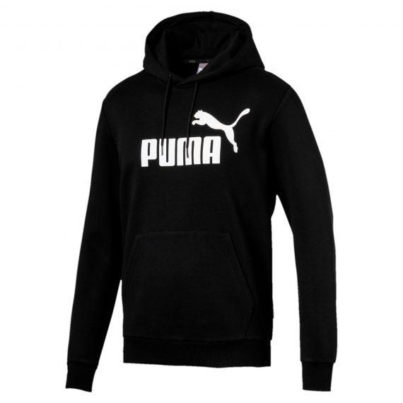 Puma Hoodie met rits voor heren zwart