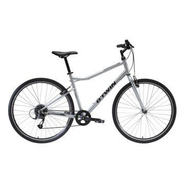 Riverside Hybride fiets Riverside 120 grijs