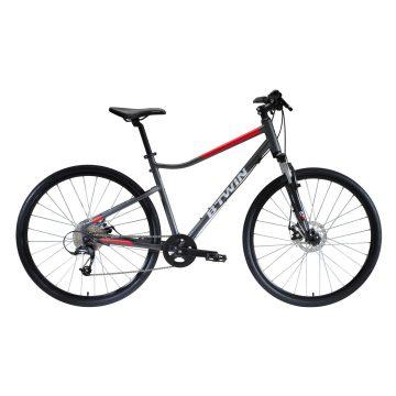 Riverside Hybride fiets Riverside 500 grijs/rood