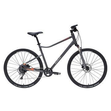 Riverside Hybride fiets Riverside 900 donkergrijs