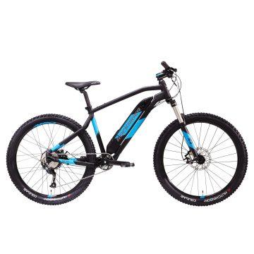 """Rockrider Elektrische mountainbike E-ST 500 V2 zwart/blauw 27.5"""""""