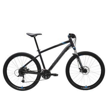 "Rockrider Mountainbike ST 520 27.5"" 3x8 speed microshift/shimano zwart"