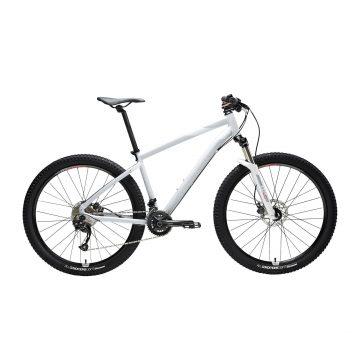 "Rockrider Mountainbike dames ST 540 27.5"" 2x9 speed shimano/sram grijs/roze"