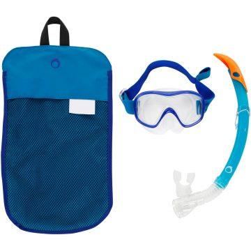 Subea Snorkelset met duikbril en snorkel FRD120 volwassenen