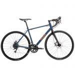 Triban Racefiets / wielrenfiets RC120 Microshift met schijfremmen donkerblauw