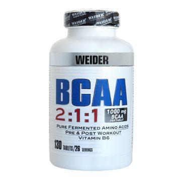Weider Aminozuren BCAA 130 capsules