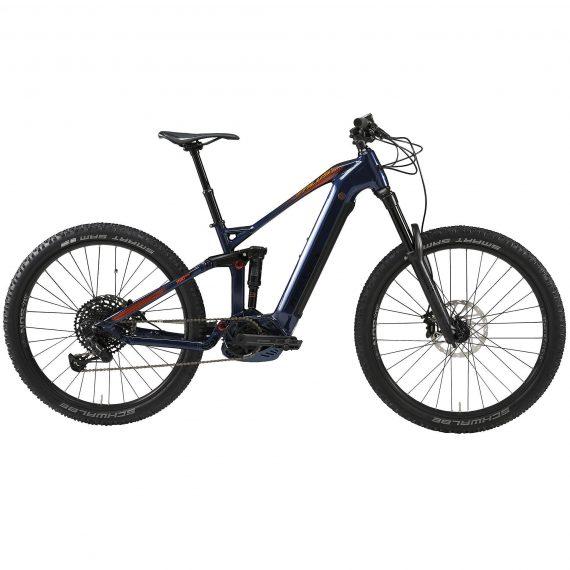 """Stilus Elektrische full suspension mountainbike E-AM 100S 27.5""""+ blauw"""