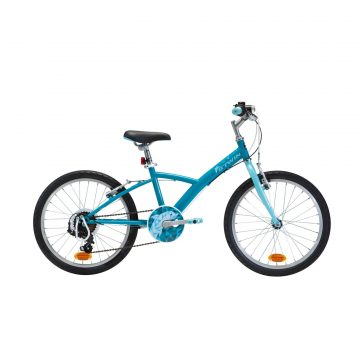 Btwin Hybride kinderfiets 20 inch 6 tot 9 jaar Original 120 blauw