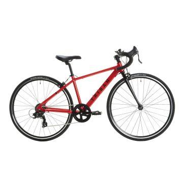 Btwin Racefiets / wielrenfiets kind 26 inch 9-12 jaar Triban 100 shimano tourney rood