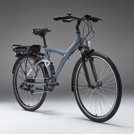 Riverside Elektrische hybride fiets Original 920 E grijsblauw
