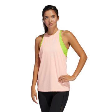 Adidas Fitnesstop voor cardiotraining voor dames lichtroze