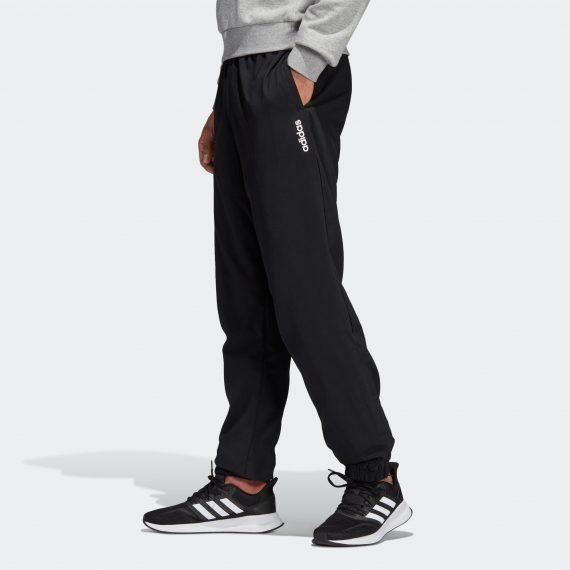 Adidas Lichte ademende broek voor cardiofitness heren zwart