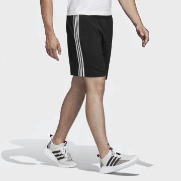 Adidas Short voor cardiofitness heren Chelsea 3 strepen zwart