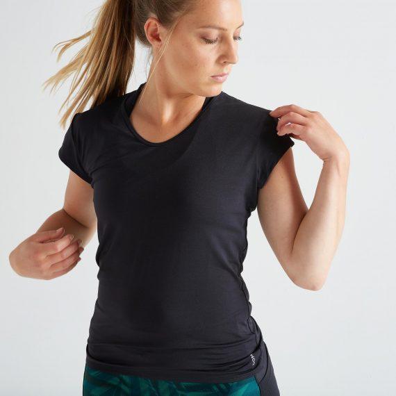 Domyos Cardiofitness T-shirt 100 voor dames