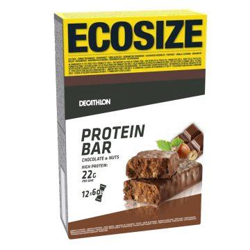 Domyos Eiwitreep chocolade hazelnoot ecosize X12