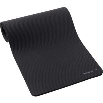 Domyos Pilatesmat Comfort L zwart 190 cm x 70 cm x 20 mm