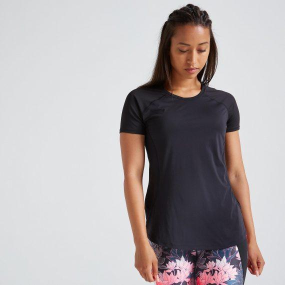 Domyos T-shirt voor cardiofitness dames 500
