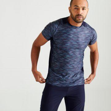 Domyos T-shirt voor cardiofitness heren 500