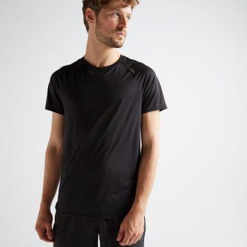 Domyos T-shirt voor cardiofitness heren FTS 100
