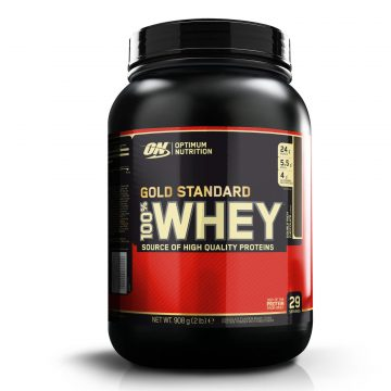 Optimum nutrition Eiwitten Gold Whey Standaard double rich chocolat 908 g