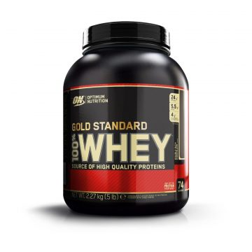 Optimum nutrition em Eiwitten Gold Whey Standaard double rich chocolat 2