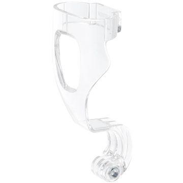 Subea Camerabevestiging voor snorkelmasker Easybreath transparant zonder moer.
