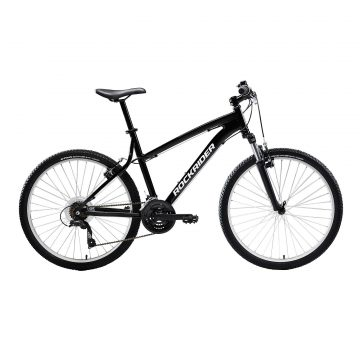 "Rockrider Mountainbike ST 50 26"" 3x7 speed microshift/shimano zwart"